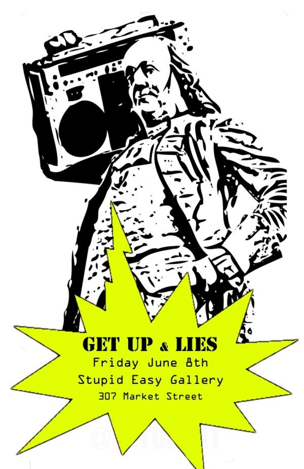 Get Up & Lies show